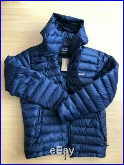 Patagonia Down Sweater Hoody Jacket NAVY MEDIUM NEW WITH TAGS
