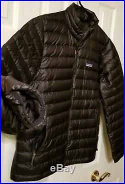 Patagonia Men's Down Sweater Jacket Black MEDIUM Spring 2019 $239
