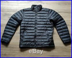 Patagonia Men's Down Sweater Jacket Black Medium RRP $350