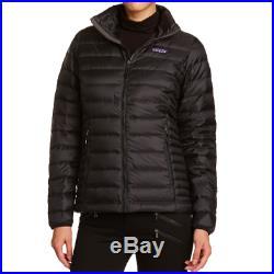 Patagonia Women's Down Sweater Jacket, Black, Medium