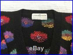 Peruvian Connection Kaffe Fassett poppies jumper hand knit alpaca sweater M L