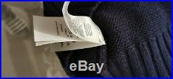 Polo Ralph Lauren CP-93 Sailboat Sweater Size M Regatta Sailing 1992 Knit