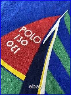 Polo Ralph Lauren CP RL-93 Regatta Sailing Boat Sailboat Yacht Sweater Mens L