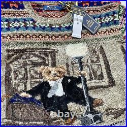 Polo Ralph Lauren Dancing In The Rain Bear Sweater Fair Isle
