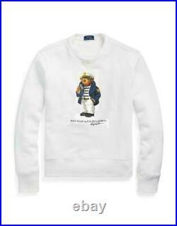 Polo Ralph Lauren Limited Edition Nautical Captain Bear Sweater Sweatshirt NWT