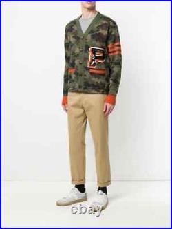 Polo Ralph Lauren Men's Camo Iconic Letterman Sweater