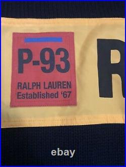 Polo Ralph Lauren P-93 RLPC67 Navy Blue Hi Tech Size Medium