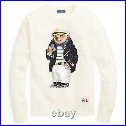 Polo Ralph Lauren Teddy Bear Cotton Sweater Size M