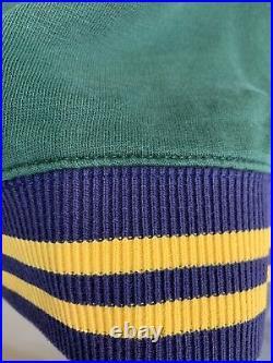 Polo Ralph Lauren Tiger Rl Green Sweatshirt Rrl Patch Varsity No Bear Sweater S