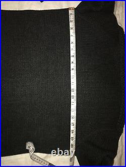 Polo Ralph Lauren Varsity Chief Partch Cardigan Siz M Chief Shawl Collar Rare