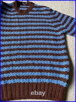 Prada maglia Alpaca Knit Crew Sweater NEW m