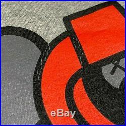 RARE! BABY MILO x KAWS REVERSIBLE CREWNECK SWEATER BLACK / GRAY bape bathing ape