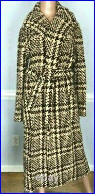 Ralph Lauren Collection Purple Label Runway Sweater Coat US 8 10 12 Medium Large