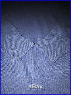 Ralph Lauren Purple Label Sz Med 100% Cashmere Turtleneck Sweater Made In Italy