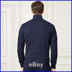 Ralph Lauren Purple Label Track Jacket PIMA Sweater M Medium NWT