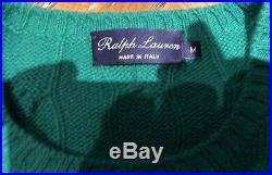Ralph lauren purple label Cashmere Cable Knit Sweater