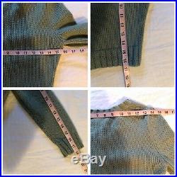 Rare Betsey Johnson Kitten Cropped Baby Blue Sweater Vintage- Medium