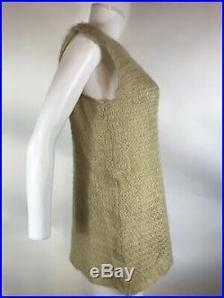 Rare Vtg Maison Martin Margiela 90s Beige Sweater Vest