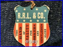 Rrl Double Rl Ralph Lauren Button Upcotton Wool Knit Shawl Cardigan Navy M $595