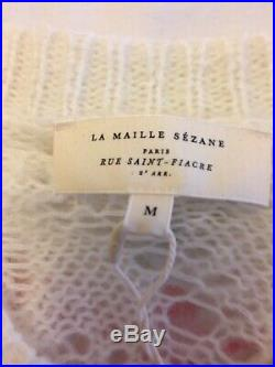 Sezane Sam Jumper Sweater Size M NWT