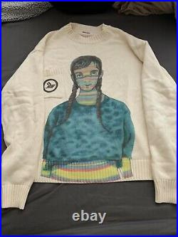 Sicko Born From Pain Bad Case Of Stripes Sweater Size M