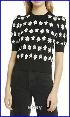 Stylish! Kate Spade Marker Floral Sweater Top Tunic Size Medium M Brand New