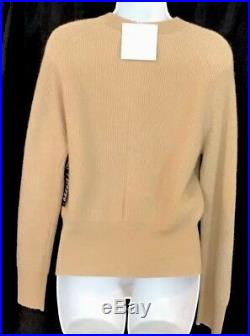 The Row Sweater The Lenni Top Camel Hair Chamomile Longsleeve Nwt Size S