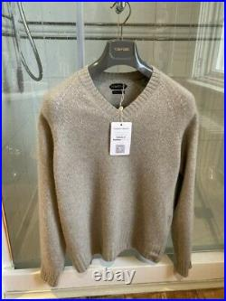Tom Ford 100% Cashmere Sweater Size Medium RRP $1,700