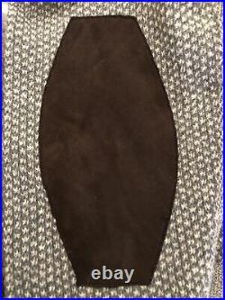 Tom Ford V- Neck Sweater, Lt. Grey/white. Size 50. Orig $950