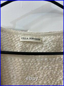 Ulla Johnson Thick Cotton Robe Belted Sweater Sz M/L (item4.3)