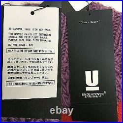 Undercover Jun Takahashi Colorblock Sweater Red Purple, Men's Size 4 (US Medium)