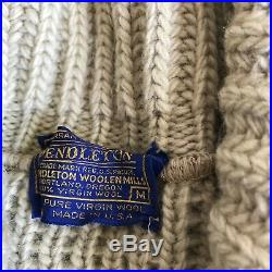 Vintage 70s Pendleton THE BIG LEBOWSKI The Dude Sweater Talon Medium