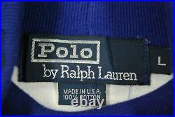 Vintage 90s Polo Ralph Lauren Suicide Ski Turtleneck Sweater Shirt Mens L