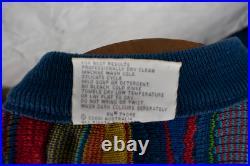 Vintage COOGI Sweater VGC Medium 1990s Biggy Smalls / Snoop Dog RARE