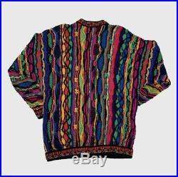 Vintage Coogi Sweater Notorious BIG Australia Mercenized Cotton Medium