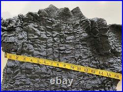 Vintage Issey Miyake Stretchy Gray Sweater Dress Size Medium