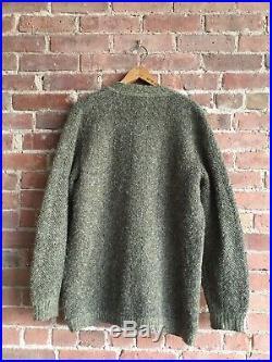 Vintage Missoni Mens Cardigan Sweater, Herringbone Sz Medium Italy