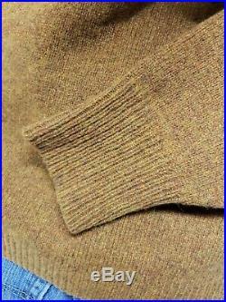 Vtg 60's 50's Campus Mohair Cardigan Sweater Men's Medium Rockabilly Kurt Cobain