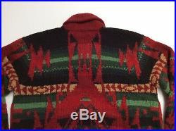 Vtg Polo Ralph Lauren Wool Beacon Southwestern Aztec Tribal Indian Knit Sweater