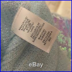 WILDFOX COUTURE Authenitc Sequin Sweater Size Medium $350.00 Retail