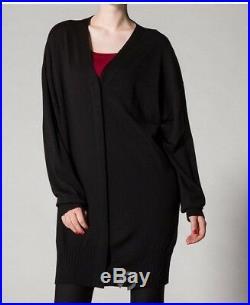 Wolford Alegra Long Cardigan Merino Wool Sweater Jumper BNWT Medium M