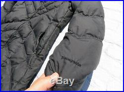 Womens PATAGONIA Down With IT Sweater Hoody Jacket Parka Sweater Medium $349