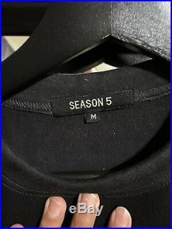 Yeezy Season 5 Calabasas Shirt Size M NWOT Kanye Virgil ABLOH Yeezy TLOP KIM