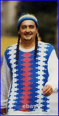 Yohji Yamamoto POUR HOMME ss1993 Men's Sweater Size Medium New