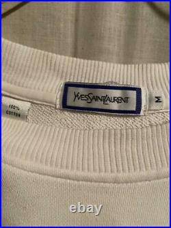 Yves Saint Laurent Authentic Vintage YSL Men's Sweater Size M used FEdEx